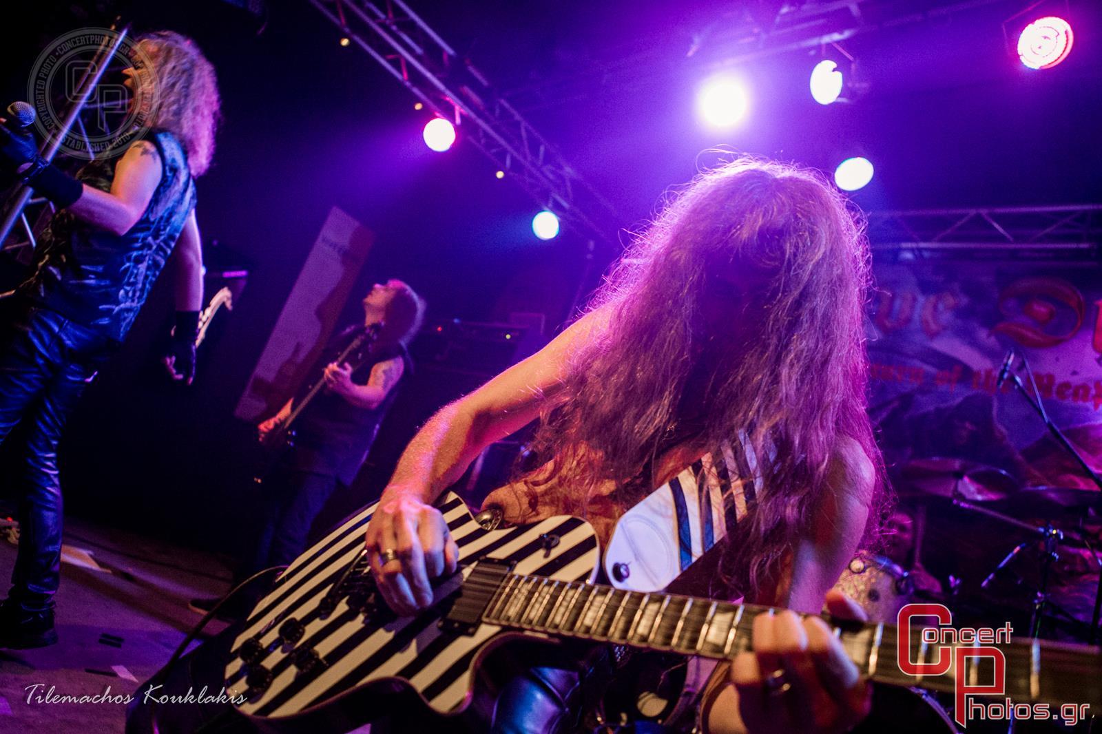 Grave Digger & Silent Rage -Grave Digger Silent Rage Kyttaro photographer:  - ConcertPhotos - 20140919_2212_16
