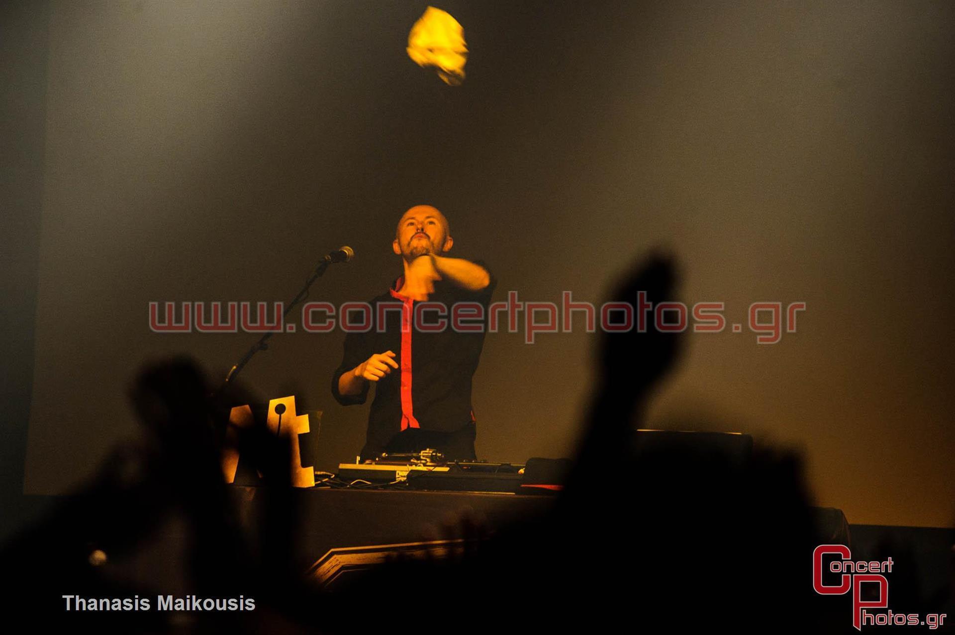 Wax Tailor - photographer: Thanasis Maikousis - ConcertPhotos-7925