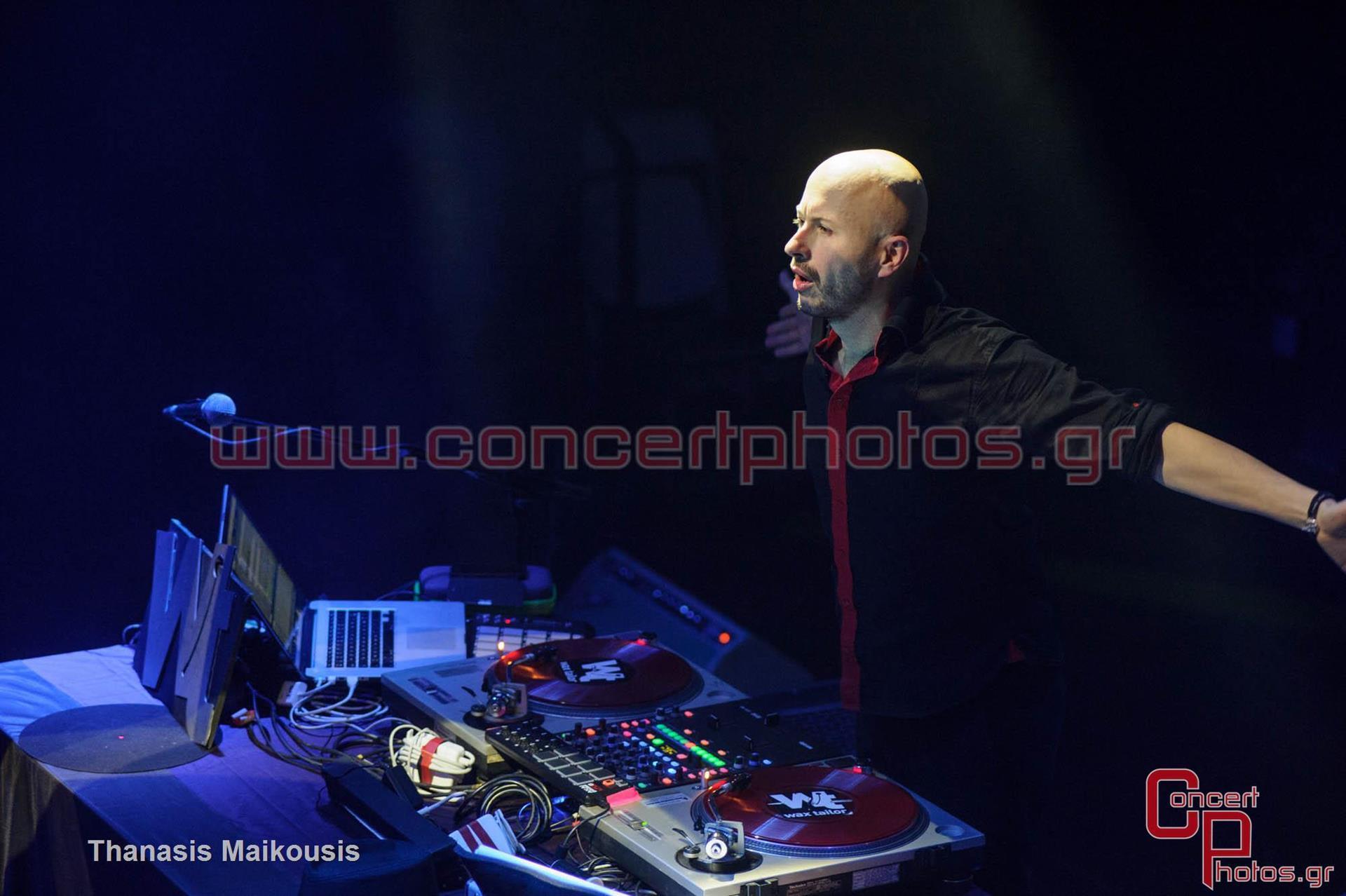 Wax Tailor - photographer: Thanasis Maikousis - ConcertPhotos-8109